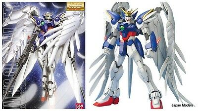 Gundam MG 1/100 WING GUNDAM ZERO Mobile Suite Xxxg Bandai Model Kit New Nuovo