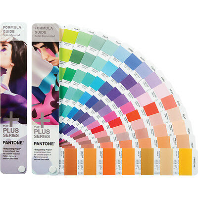 Pantone Formula Guides Solid Coated & Uncoated (GP1601N) 2018 Edition *New*