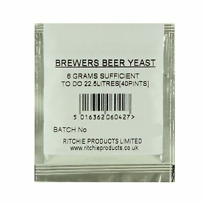 Ritchies Beer Yeast for 23L 40 pints