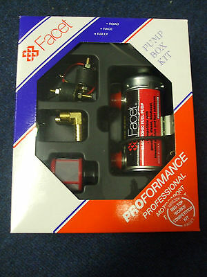 Facet Red Top Fuel Pump Kit Comperition  8mm Unions