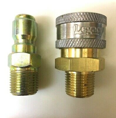 "3/8"" Male NPT Quick Coupler Fittings for Pressure Washers  Top Quality Free Ship"