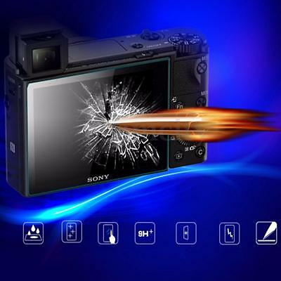 Tempered Glass LCD Screen Protector Guard Film For Sony Alpha A6000 A5100 A5000