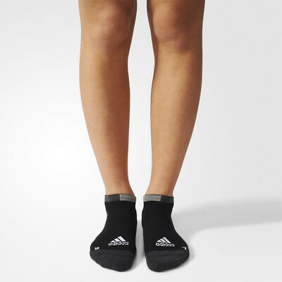 Adidas R E N-Show TC Hombre Mujer Gris Negro Running Entrenar Tobillo Calcetines
