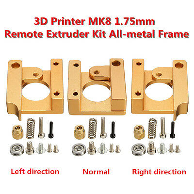 3D Printer MK8 1.75mm Remote Extruder Kit All-metal Frame para Makerbot Reprap