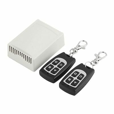 12V 4CH 200M Wireless Remote Control Relay Switch Transceiver + Receiver 433MHz