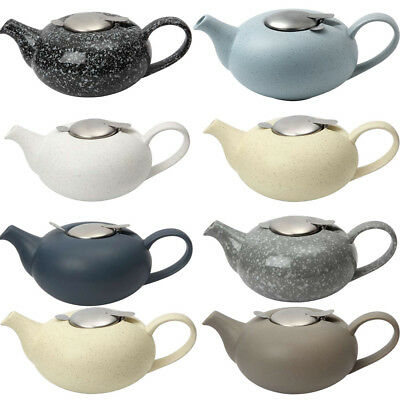 London Pottery Pebble Design Ceramic Teapot With Filter, 2 Cup & 4 Cup