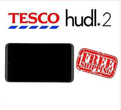 Tesco Hudl 2 Black Replacement Full Screen LCD Digitizer Assembly Used Grade B
