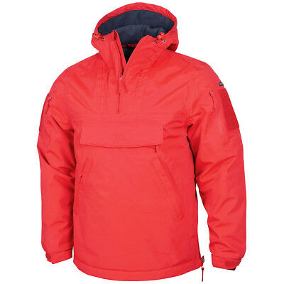 d0cf954f8cf Pentagon UTA Tactical Anorak Mens Emergency Softshell Water Resistant Jacket  Red