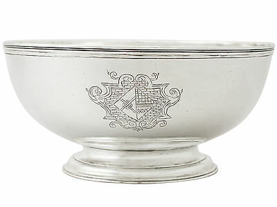 Sterling Silver Bowl - Antique George I