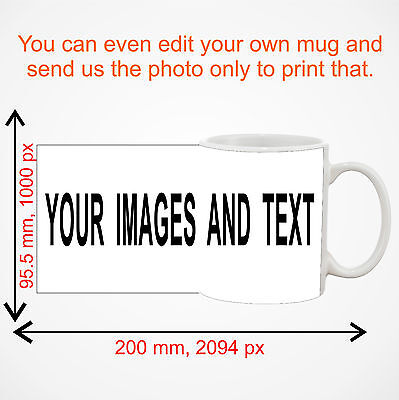 Personalised Mug Custom Photo Cup Gift Box Coffee Image/Text Promotional Bulk