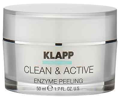 Klapp Clean Active Enzyme Peeling Couperose Empfindliche Haut 50ml