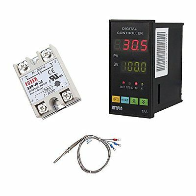 MYPIN® Universal Digital TA6-SNR PID Temperature Controller with Relay DIN 1