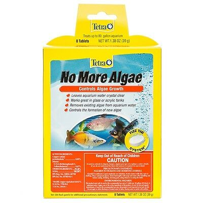 Tetra No More Algae 8 tabs Control Algae Growth