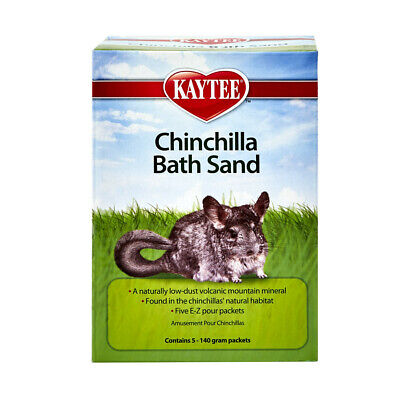 Super Pet Chinilla Bath Sand 5  E-Z Pour Packets Free Shipping