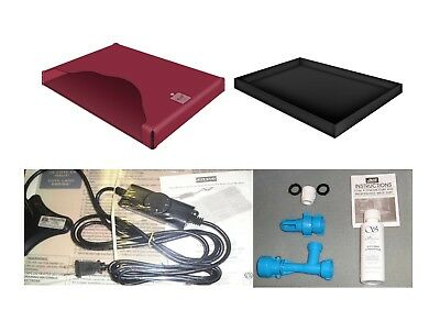 Free flow waterbed Mattress, Heater, Liner and a Fill and drain Kit FREE SHIP