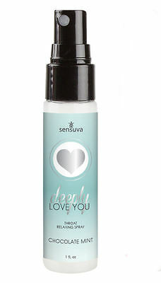 Deeply Love You Throat Relaxer Chocolate Mint Desensitising Numbing Spray 30ml