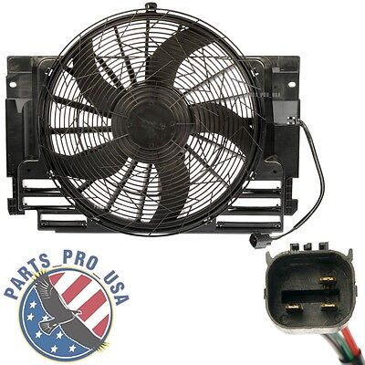 AC A/C Condenser Cooling Fan Assembly fit BMW X5 E53 2000-2006 64546921381