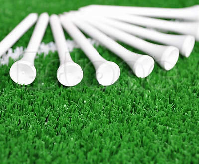 100/200/300pcs 70mm Golf Ball Wood Tee Outdoor sports wooden Tees Brand White