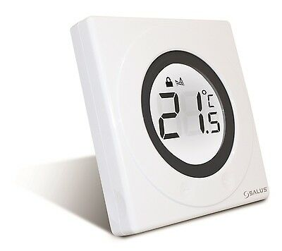 Salus ST320 S-Series Digital Thermostat Room Heating Control in White - BNIB
