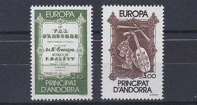 French Andorra 1985  S G F365 - 66 Europa Set M / N / H