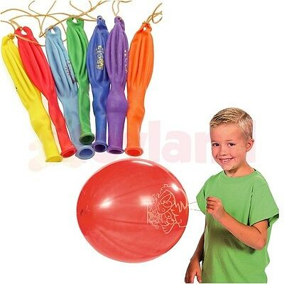 Large Punch Balloons Bouncy Boys Girls Toy Favor Prize Birthday Party Bag Filler