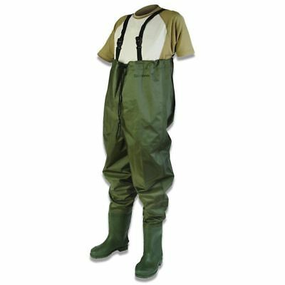 Daiwa Lightweight Nylon Chest Fishing Waders All Sizes 6-12 - DNCW