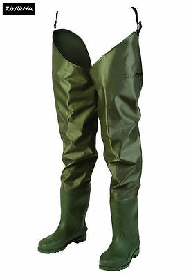Daiwa Lightweight Nylon Hip Fishing Waders All Sizes 6-12 - DNHW