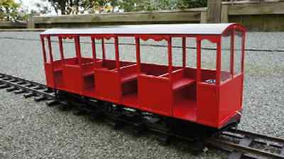Groudle Glen type 3 coach Kit IP Engineering SM32 G Gauge Garden Railway 16mm