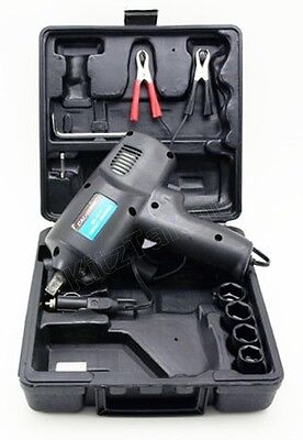 "Compact Impact Wrench Kit 12V DC Electric 1/2"" Tool Driver Ring Sockets Car -NEW"