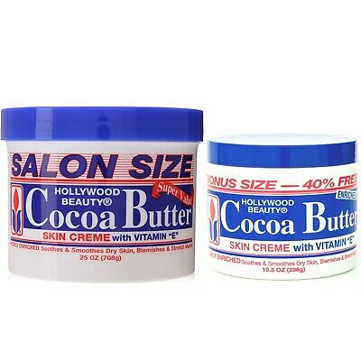 Hollywood Beauty Cocoa Butter,skin Creme With Vitamin E