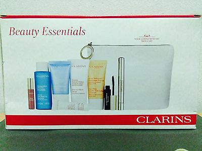 Clarins Beauty Essential set - value $153