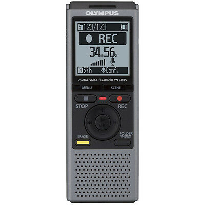 Olympus VN731PC Digital 2GB USB Voice Recorder Dictaphone with PC Connection New