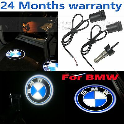 2X LED Laser Welcome Projector Logo Ghost Shadow Car Door Light Lamp For BMW