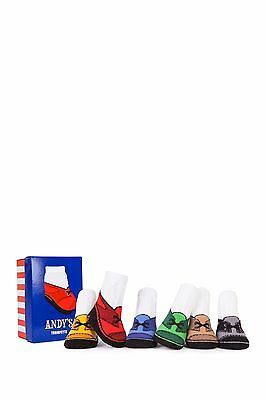 Trumpette Andy's Sock Set - Pack of 6 (Baby Boys) 0-12 M