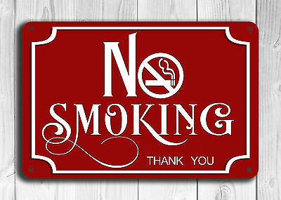 No Smoking Sign No Smoking Signs No Smoking No Smoking Signage Safety Signs 12x8