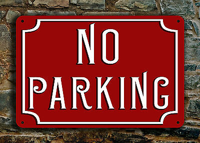 """No Parking Sign No Parking Signs No Parking Garage Sign Private No Parking 12x8"""""""