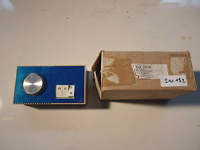 TLX2908 Sunvic Thermostat électronique electronic fancoil thermostat 230VAC
