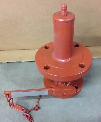 "Protectoseal Internal Safety Valve, C3002F3, 2"" x 3"" Flange, Used"
