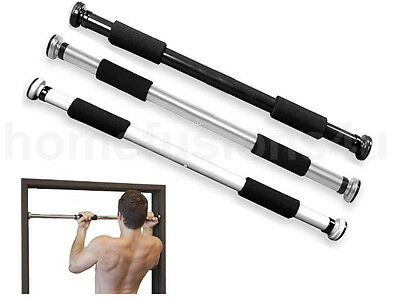 Door Pull Up Exercise Bar Gym Push Sit Chin Up Iron Abs Fitness Workout Stretch