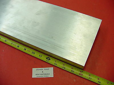"1-1/4"" X 6"" ALUMINUM 6061 FLAT BAR 16"" long Solid 1.250"" Plate New Mill Stock"