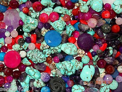 1 kg semi-precious gemstone all sorts and sizes SUMMER mix combined post