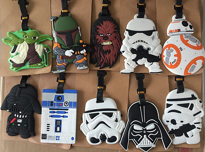 11 Styles New Star Wars Luggage Tag Travel Suitcase Baggage Card Holder Name Bag