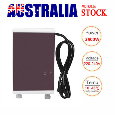 Tankless Instant Travel Caravan Shower Hot Water System Water Heater Electric