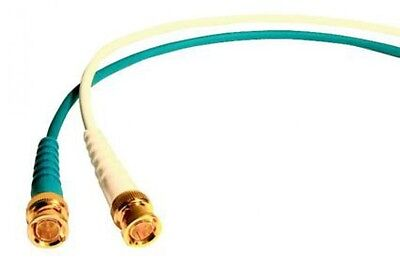 Video Cable VFX720 HD SDI Coaxial Cable with BNC Connectors CCTV White 0.5m