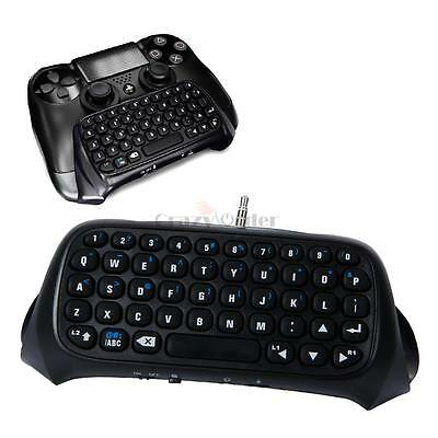 New Bluetooth Wireless Keyboard Chatpad Controller Receiver For PlayStation 4