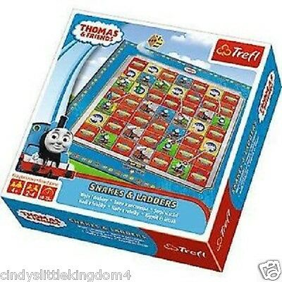 New Thomas & Friends Snakes and Ladders Board Game Toy 4+
