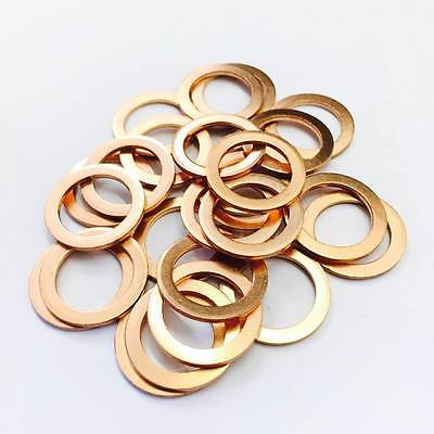 Copper Sump Plug Washers (x25) - 14x20x1.5 - Mercedes-Benz.