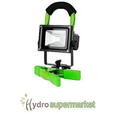 Lumii Green Led Work Light For Grow Room-Hydroponics Use In Dark Periods