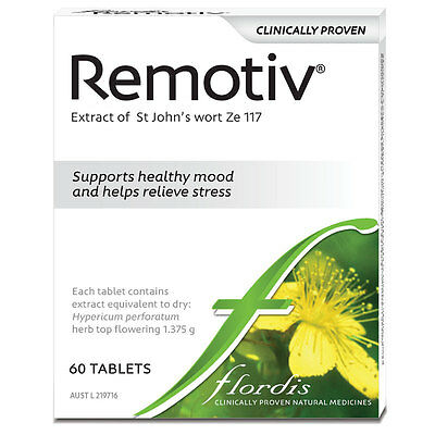 GENUINE Flordis Remotiv 60 Tablets