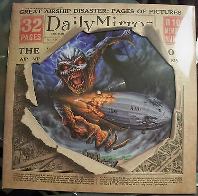 """Iron Maiden """"Empire Of The Clouds"""" Picture 12"""" Vinyl Ltd Edition Rsd 2016 Lp"""